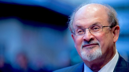 "Salman Rushdie is the author of 12 novels, including Midnight's Children and The Satanic Verses. Rushdie was once the subject of death threats; now, when asked if he can move about freely Rushdie responds: ""You have to stop asking me. ... It's been like 16 years since it's been OK."""